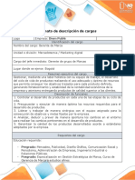 Anexo 2. Formato - descripción de cargos Angelo Higuera