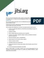 Jitsi es un servicio de vídeoconferencias libre