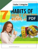 7 navika za učinkovit gubitak težine