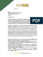 Solicitud Fiscalia General de la Nación