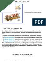 multipleefecto evapor 5TA