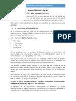 Resumen Parte II, Administración I (Junio 20)