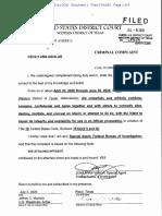 Cecily Ann Aguilar Criminal Complaint