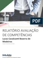 Relatório de Avaliação de Competências - Lucas Medeiros