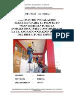 INFORME DE TRABAJOS REALIZADOS