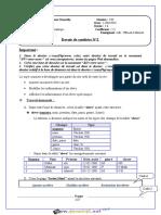 Devoir Corrigé de Synthèse N°2 1er Semestre - TIC - Bac Informatique (2018-2019) Mr Helali Miloud.pdf