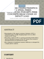Response Characteristics of a Steel Fiber-Reinforced PFC beam under an impact load - BULACAN