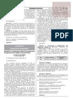 Decreto Supremo N° 007-2020-JUS