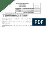 10 % SEGUNDO corte 2020 - 1 S5 algebra