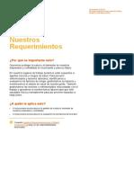 BHP003 Nuestros Requisitos de Salud
