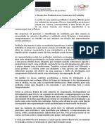Representações sociais das profissões e dos contextos de trabalho