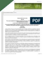 Reglamento Educacion Continuada- Universidad Nacional de Colombia