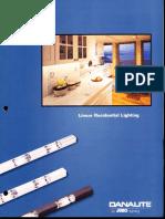 Juno Lighting DanaLite Linear Residential Lighting Brochure 1996