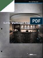 Juno Lighting Low Voltage Lighting Product Brochure 1995