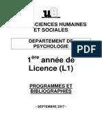 Brochure L1 psycho-2017-2018