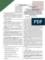 Decreto de Urgencia N° 078-2020