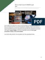 hardzone.es-AMD Ryzen 9 3900X vs Intel Core i9-9900K qué procesador es mejor