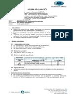 ANTAMINA-LASER SRL-ALMACEN DE CONCENTRADOS-INFORMEDEAVANCE No 02-14.08.15-JCH