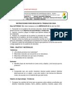 ACTIVIDAD N°2  VIRTUAL PAGINA GRADO SEGUNDO ABRIL 2020 C. NATURALES