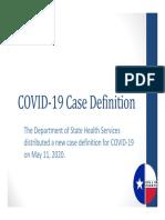 COVID‐19 Case Definition - Collin County, Texas