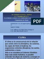El Cambio Climático en Tacna