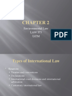 Chapter 2 Env LAW 573.