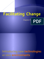 Facilitating Change, Clayton R. Wright