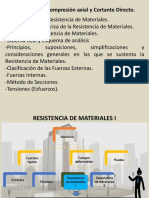 Tema 1. Modificado. (1)Tracción-Compresión Axial y Cortante Directo. Mod. 2018