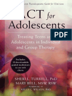ACT for Adolescents Treating Teens and Adolescents in Individual and Group Therapy by Sheri L. Turrell, Mary Bell (Z-lib.org)