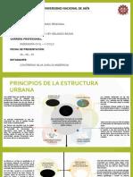PRINCIPIOS DE LA ESTRUCTURA URBANA