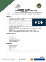 GUÍA No 4. SUPERFICIES EQUIPOTENCIALES Y LINEAS CAMPO  ELÉCTRICO2 (1)