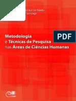 Metodologia da pesquisa em ciências humanas
