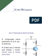 Unidade 4b - Polarização CC no TBJ - parte 2