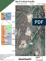 Mapa de localizacao da pedreira  Rugunati