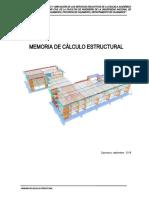 MEMORIA DE CALCULO ESTRUCTURAS