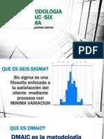 Introduccion a metodologia DMAIC lean  Six Sigma