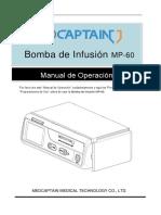 MP-60 Operation, Instalacion y Mantenimiento