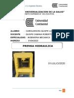 Introducción a La Ingeniería Mecánica - Proyecto