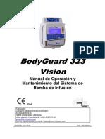 BG 323 VISION  MANUAL OPERACION, INSTALACIÓN Y MANTENIMIENTO ESPAÑOL