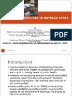 Sanitation in Bayelsa State1