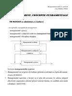 Concepte Management