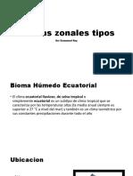 Biomas zonales tipos