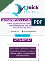 Quick English_Apresentação