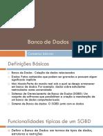 Conceitos Banco de Dados
