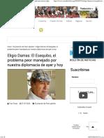 Eligio Damas_ El Esequibo, el problema peor manejado por nuestra diplomacia de ayer y hoy _ Emisora Costa del Sol 93