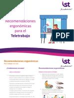 Recomendaciones Ergonomía y Teletrabajo