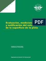 OACI - Circular 329 - Evaluación, Mediciones y Notificación Del Estado de La Superficie de La Pista