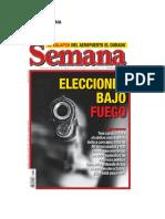 REVISTA SEMANA 21092019 EDICION 1951 ELECCIONES BAJO FUEGO