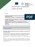 """Enseñanza de La Lectura y La Escritura en el IES """"Las Lomas"""""""