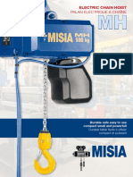 Misia MH Series Chain Hoist